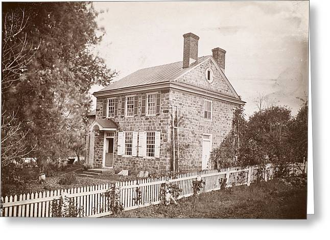 Pennsylvania Photographs Greeting Cards - Valley Forge: House Greeting Card by Granger