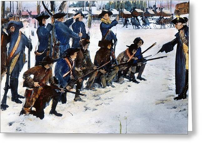 Recruit Greeting Cards - Valley Forge: Steuben, 1778 Greeting Card by Granger