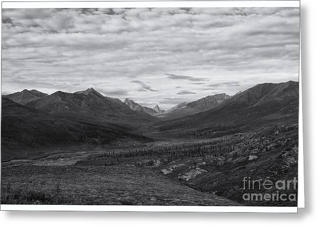 Mountainscape Greeting Cards - Valley Of Beauty Greeting Card by Priska Wettstein