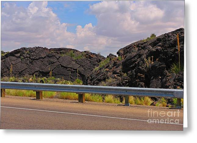 Geology Photographs Greeting Cards - Valley of Fire Three Greeting Card by John Malone