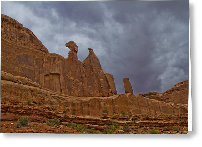 Monolith Greeting Cards - Valley of the Giants 60 Greeting Card by Tom Kelly