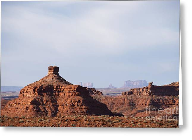 Chromatic Greeting Cards - Valley of the Gods I Greeting Card by David Gordon