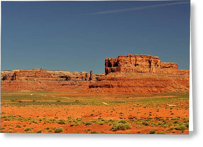 Extreme Greeting Cards - Valley of the Gods - See what the Gods see Greeting Card by Christine Till