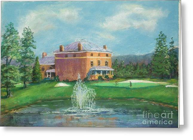 Etc. Pastels Greeting Cards - Valley View12 Greeting Card by Bruce Schrader