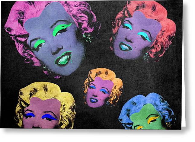 Signature Digital Art Greeting Cards - Vampire Marilyn 5b Greeting Card by Filippo B