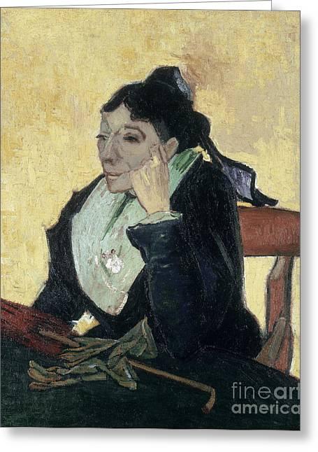 Van Gogh Larlesienne 1888 Greeting Card by Granger