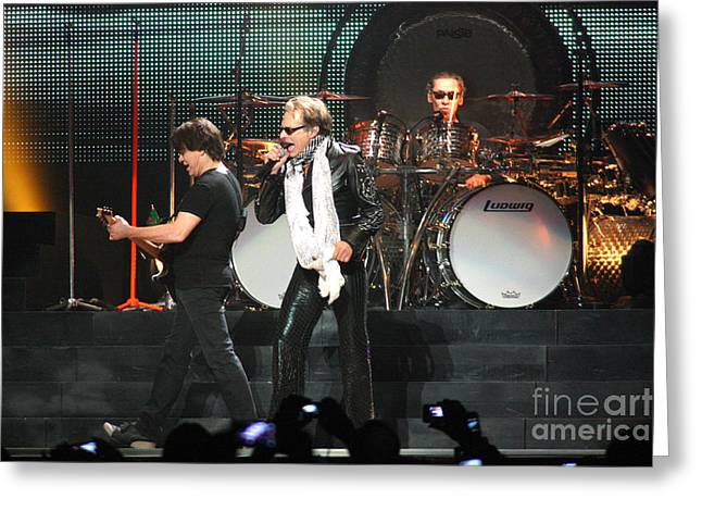 Gingrich Photography Digital Art Greeting Cards - Van Halen-7249 Greeting Card by Gary Gingrich Galleries