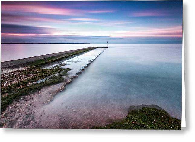 Caost Greeting Cards - Vanashing Point Greeting Card by Ian Hufton