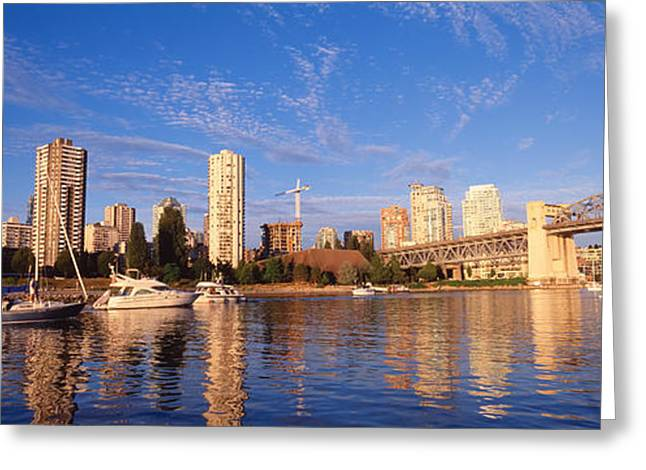 British Columbia Greeting Cards - Vancouver, British Columbia, Canada Greeting Card by Panoramic Images