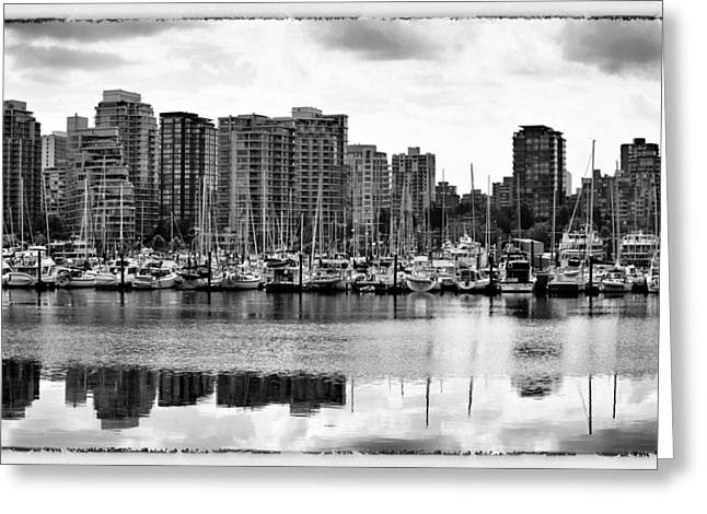 Vancouver Waterfront Greeting Card by Jim Nelson
