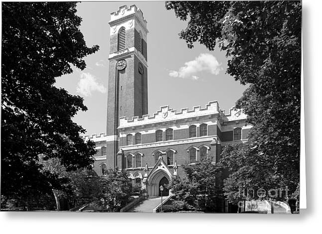 Nashville Greeting Cards - Vanderbilt University Kirkland Hall Greeting Card by University Icons