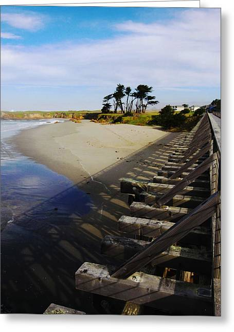 Ocean Art Photography Greeting Cards - Vantage Point Greeting Card by Kandy Hurley