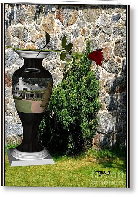 Pemaro Greeting Cards - vase 3V1 Greeting Card by Pemaro