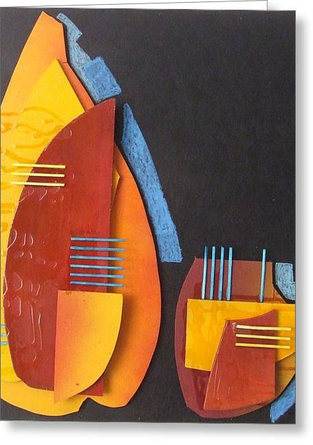 View Sculptures Greeting Cards - Vase Greeting Card by Marita Milkis