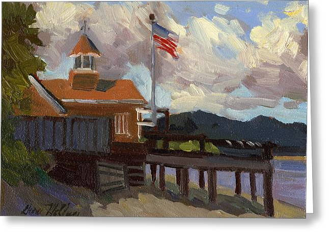 Vashon Island 4th Of July Greeting Card by Diane McClary