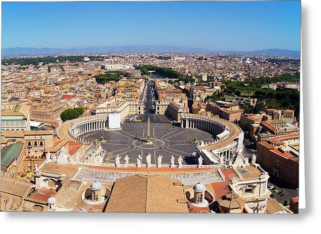 Vatican City Greeting Card by Mark Williamson