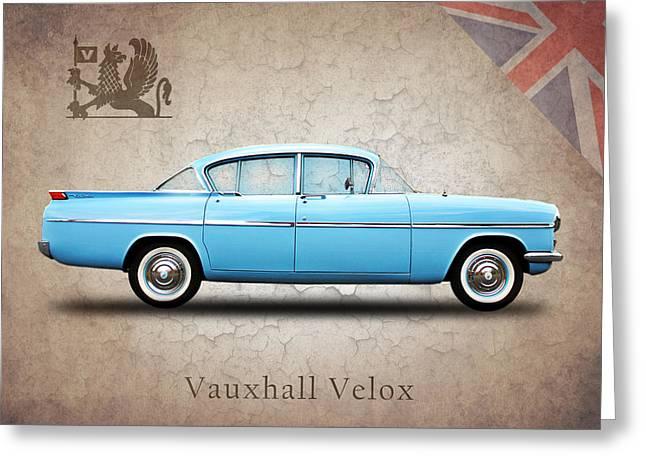 Transportation Greeting Cards - Vauxhall Velox PA Greeting Card by Mark Rogan