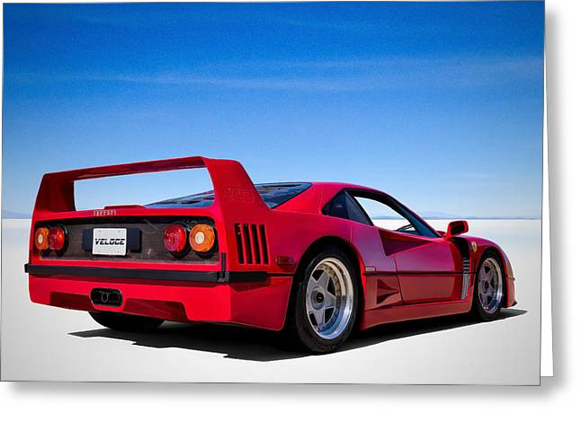 Veloce Equals Speed Greeting Card by Douglas Pittman