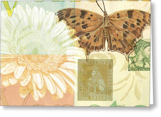 Stamp Greeting Cards - Venezia Greeting Card by Debbie DeWitt