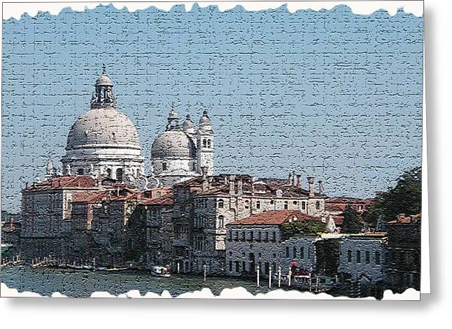 Italy Canal Greeting Cards - Venice 5 Greeting Card by Rebecca Cozart
