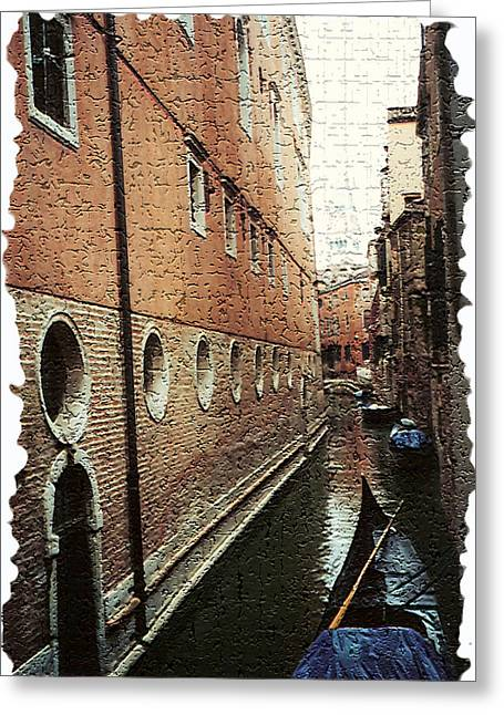 Venice - Italy Greeting Cards - Venice 7 Greeting Card by Rebecca Cozart