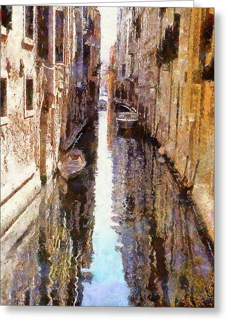 Venice Tour Greeting Cards - Venice Canals 3 Greeting Card by Yury Malkov