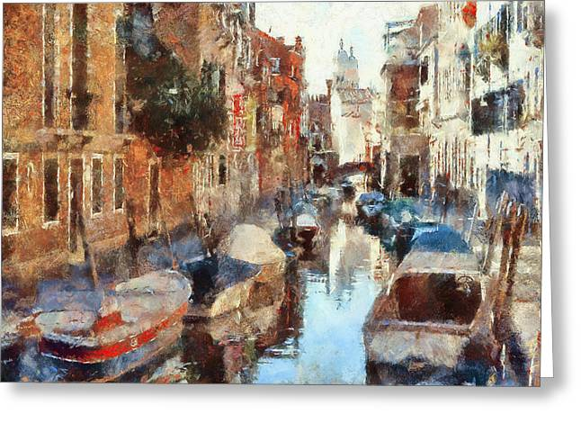 Venice Tour Greeting Cards - Venice Canals 4 Greeting Card by Yury Malkov
