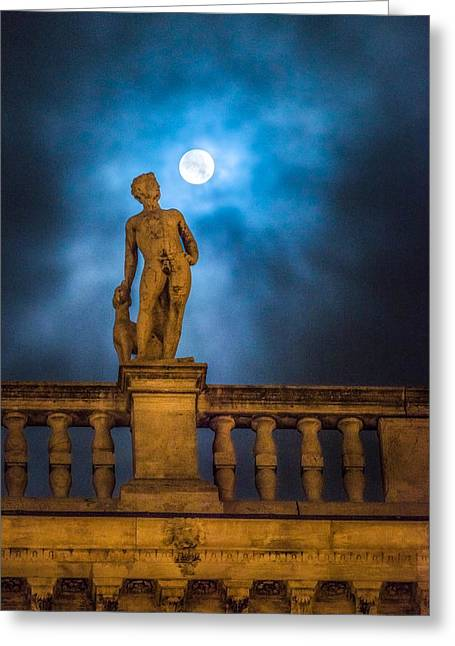 Statue Greeting Cards - Venice Greeting Card by Cory Dewald