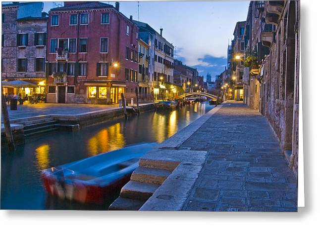 Venice - Italy Greeting Cards - Venice Gold Greeting Card by Douglas Girard