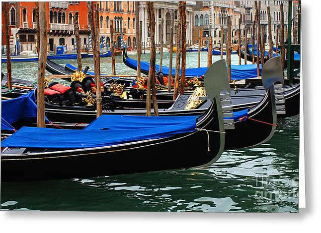 International Travel Greeting Cards - Venice Grand Canal 2 Greeting Card by Bob Christopher