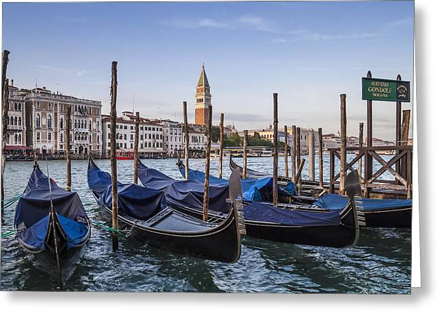 Canal Grande Greeting Cards - VENICE Grand Canal and Goldolas Greeting Card by Melanie Viola