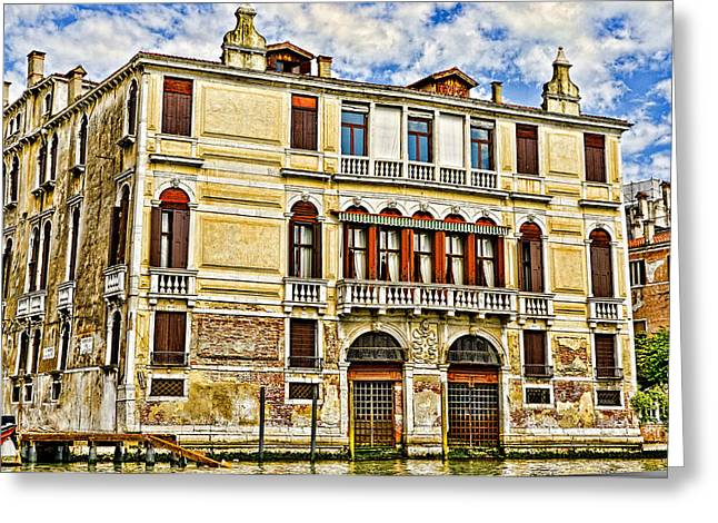 The Piazza Greeting Cards - Venice Home Greeting Card by Jon Berghoff