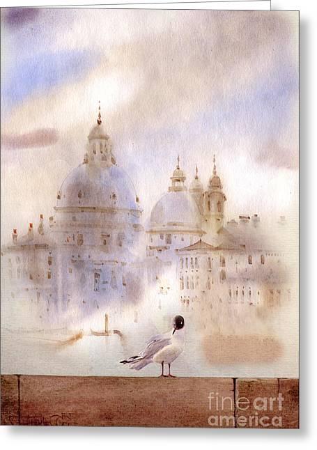 Venice Italy Greeting Cards - Venice II Greeting Card by Svetlana and Sabir Gadghievs
