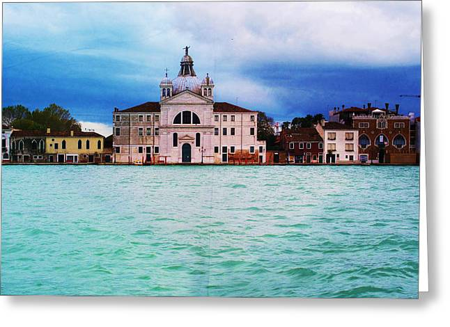 Venice Italy Greeting Card by Cimorene Photography