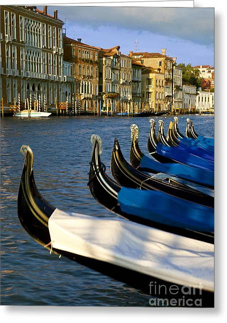 Romance Renaissance Greeting Cards - Venice Italy Greeting Card by Brian Jannsen