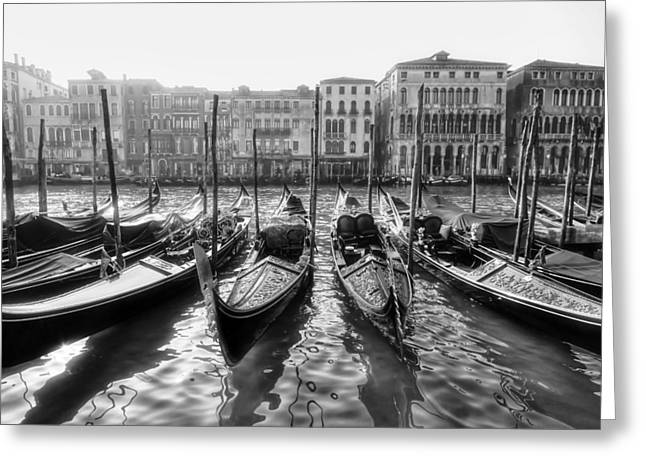 Recently Sold -  - Italian Sunset Greeting Cards - Venice - Italy Greeting Card by Joana Kruse
