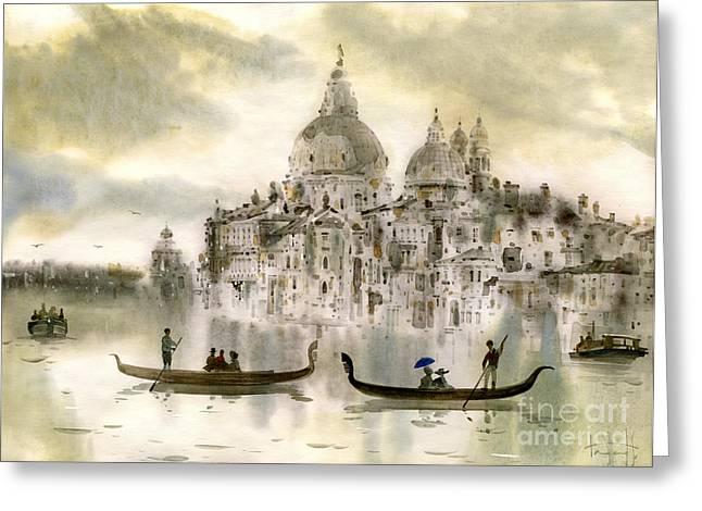 Venice Italy Greeting Cards - Venice IV Greeting Card by Svetlana and Sabir Gadghievs