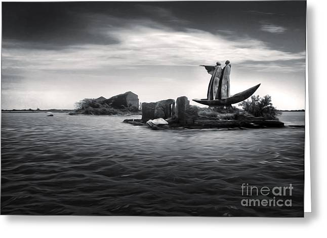 Gregory Dyer Greeting Cards - Venice Lagoon Greeting Card by Gregory Dyer