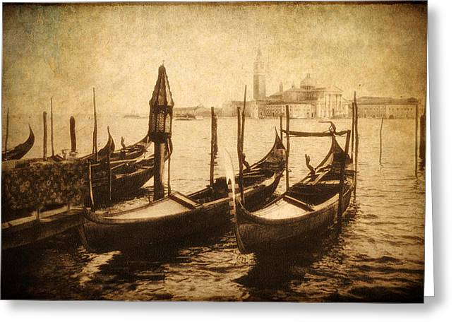 European City Greeting Cards - Venice Postcard Greeting Card by Jessica Jenney