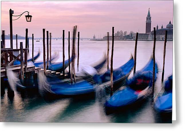 Venice Greeting Card by Rod McLean