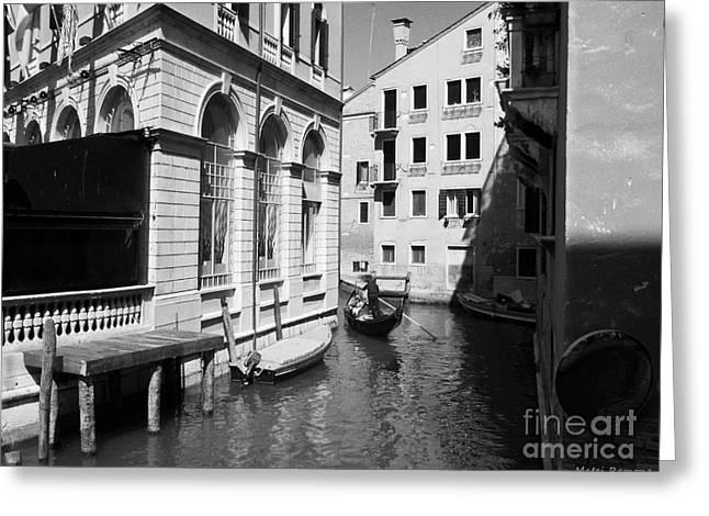 Venice Series 5 Greeting Card by Ramona Matei