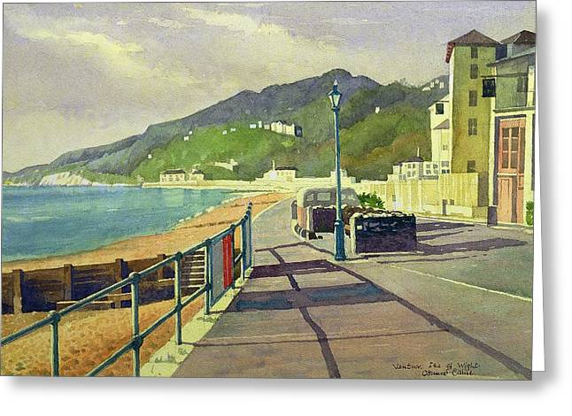 Desert Drawings Greeting Cards - Ventnor, Isle Of Wight Greeting Card by Osmund Caine