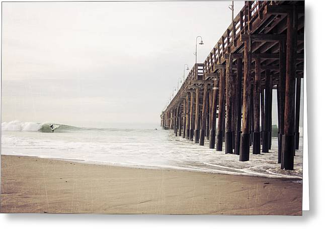 Ventura California Greeting Cards - Ventura California Pier  Greeting Card by Bree Madden