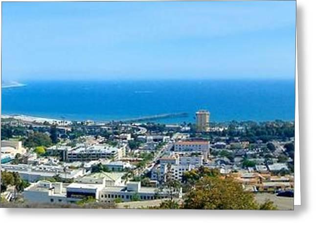 Ventura California Greeting Cards - Ventura Ocean View Greeting Card by Henrik Lehnerer
