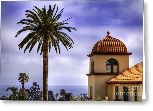 Ventura California Greeting Cards - Ventura Palms Greeting Card by David Millenheft