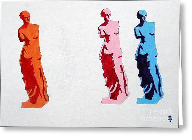 Venus de Milo Statue Greeting Card by Venus