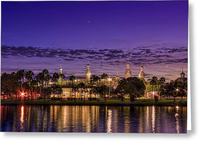 Venus Over The Minarets Greeting Card by Marvin Spates