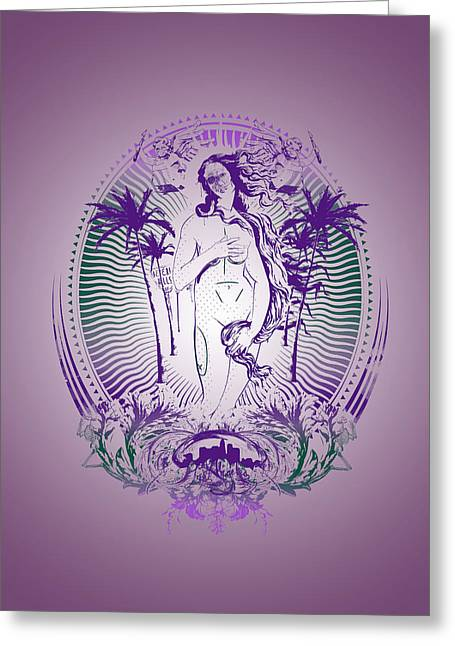 Historical People Greeting Cards - Venus Greeting Card by Pop Culture Prophet