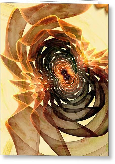 Reality Mixed Media Greeting Cards - Verity Filter Greeting Card by Anastasiya Malakhova