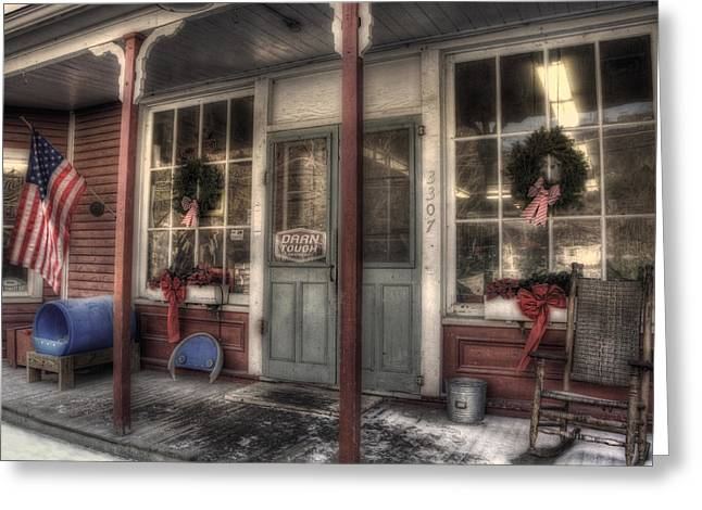 Vermont Country Store Greeting Cards - Vermont Country Store Greeting Card by Joann Vitali